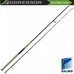 Спиннинг Salmo Aggressor SPIN 45, углеволокно, штекерный, 2,4 м, тест: 15-50 г, 144 г
